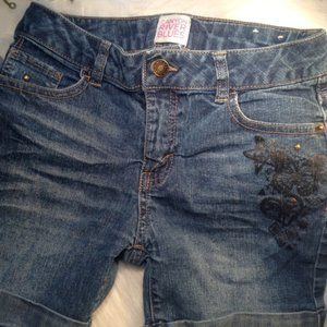 CRB Decorated Jean Shorts